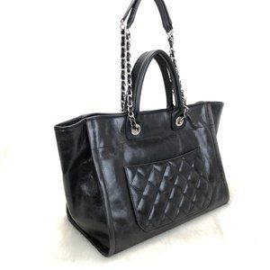 Chanel Glazed Deauville Tote Bag %100 Genuine